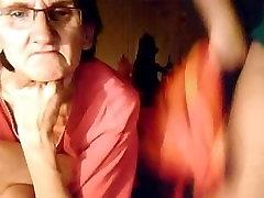 Bbw girl and her granny on webcam. Maricruz from 1fuckdate.com