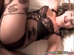 Sister Gets Fucked In Crotchless Body Stocking POV