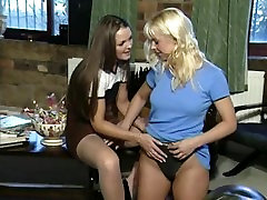 Three Hours of Two Couples of Super Hot Lesbian British MILFS
