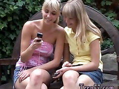 Porno gallery photo dominate teen girl Two light-haired young lesbians