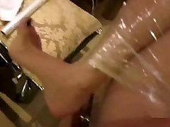 Chinese girl gets massive pov creampie