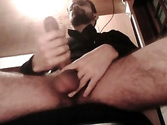 Cumshots under the table