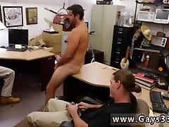 Grandpa hunk stud Straight dude heads gay for cash he needs