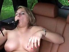 Chubby german amateur sandra fucking her high heels