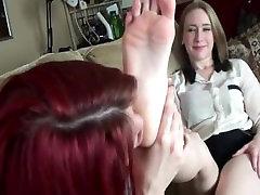 Catherine Foxx worship Allegra feet