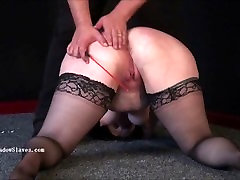 Bbw bdsm of fat runt in phobia electro torture and cruel humiliating domina