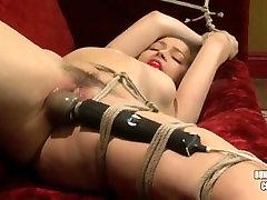 Dani Daniels bondage and vibed