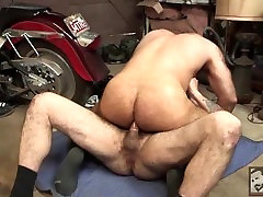 Hairy Muscle Bear Victor West Takes Scottys Fat Cock