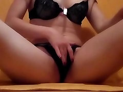 Hot Busty Italian Natural Teen homemade Play With Pussy