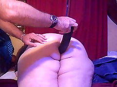 amateur bbw anal fucked with a cucumberr