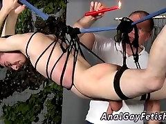 Bare naked men bondage gay full length Hed already had a bit of