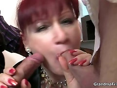 Office mature bitch riding cock after cock sucking