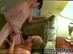 Gay twinks and older gay men free bareback Arons normally a bottom, but