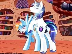 My little Pony: Shining fucks Rainbow