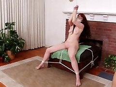 Gwen Bound Naked
