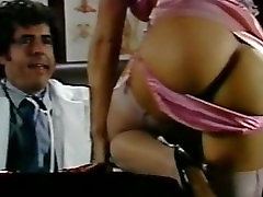 Retro Classic - Purple Satin Panty Sex