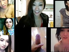 CFNM Asian Girls Watch and React to Cock