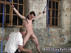 Shower bondage gay twink With his tender nutsack tugged and his knob