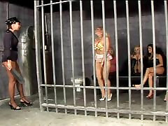 Lesbian masturbating session in prison