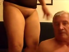Asian Milf Sits on his face - Oral Sex