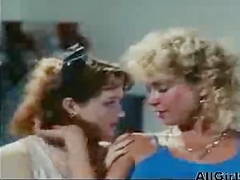 Gina Carrera amp Jacqueline Lorians In ball Busters 1985 lesbian girl on girl lesbians