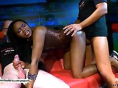 Ebony bukkake babe Fortula