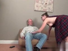 Meet her on MATURE-FUCKS.COM - MORE OF THIS OLD MAN WITH Y GIRLE YUMMY