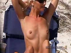 Nudist Beach Teen Girls Voyeur Serie 40