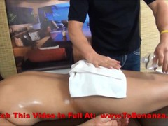 Oiled Massage With Sexy Shemale
