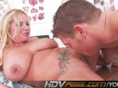 Big Titted MILF Rachel Love Fucked By Young Bull