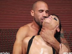 Adriana Chechik sucks cock and gets anal sex