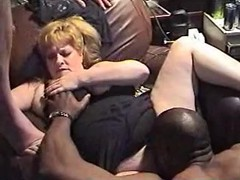 InterracialPlace.org - Vintage Wife and Two Black Cocks