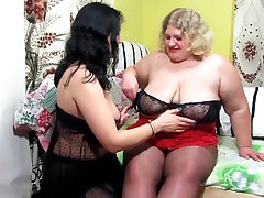 Lesbian fisting, his thick girlfriend.