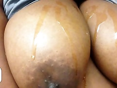 Huge Oily Tits in Slow Motion