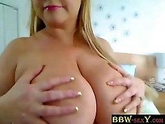 Big beautiful woman Samantha 38G huge love bubbles on web camera - bbw-sexy.com