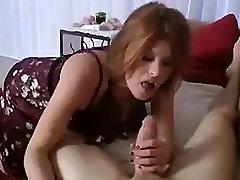 Caught stroking with moms panties
