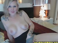 Would You Fuck This Busty Big Ass inked Milf