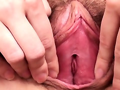 Nice girl stretches narrow vagina and gets deflorated