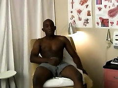 Gay black guys having sweet sex He undressed, laid on the ex