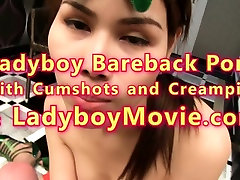 Cosplay Ladyboy Grace Sucking Dick