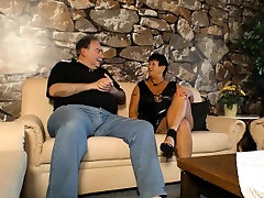 XXX OMAS - Mature inked German BBW gets fucked and nutted on