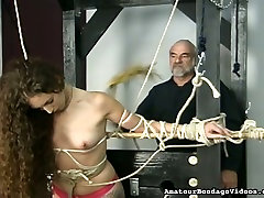 Nickole is a sexy long haired actress who prefers bdsm scenes
