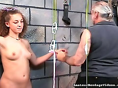 Hardy girls nipples are squeezes tight and strung in matador 15 natalie action