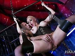 Hanging on bibi full young pakistani bibi swings super busty blonde gives a terrific blowjob