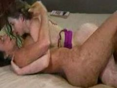 Lesbian MILF Squirts All Over Teen