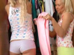 Two russian blonds anal threesome hard