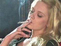 Explicit Smoking Girl Hungry XXX