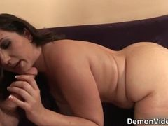Hot and horny brunette slut with sexy