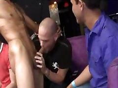 Private male stripper party getting wild and crazy