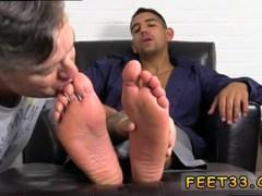 Free download gay big fat cock fuck sex videos Jake Torres Gets Foot